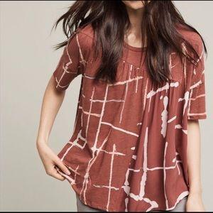 Anthropologie:Akemi + Kin boho short sleeve top